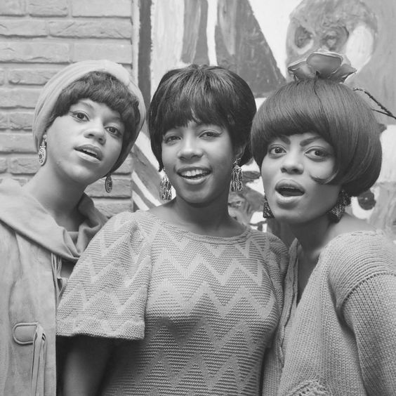 The Supremes: Florence Ballard, Mary Wilson, and Diana Ross, Sept. 1965. (Photo: Wikimedia Commons)