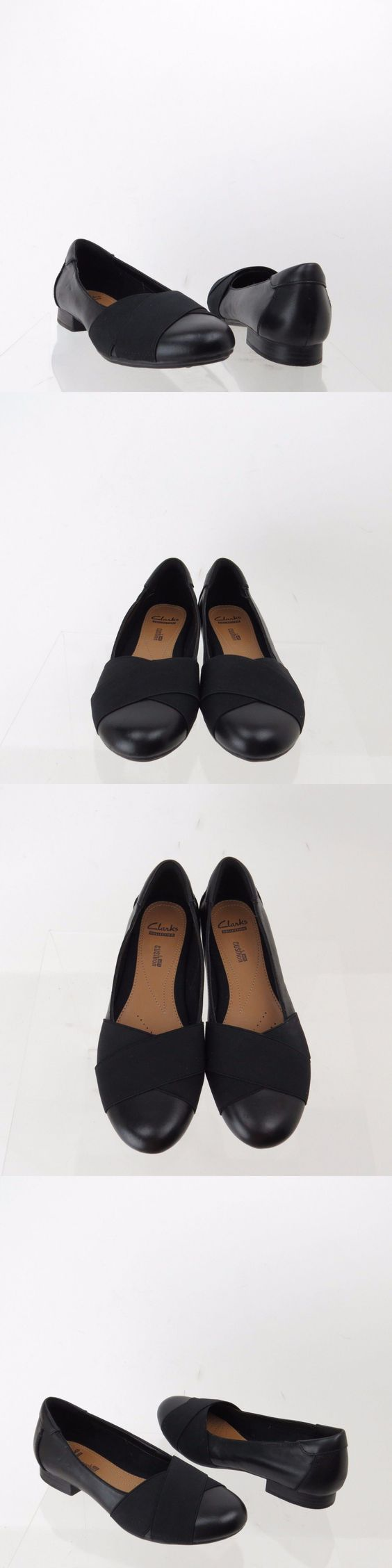Women shoes: Women s Clarks Bayham Raine Shoes Black Slip On Loafer Flats Size 8 M NEW! BUY IT NOW ONLY: $31.49 #ustylefashionWomenshoes OR #ustylefashion