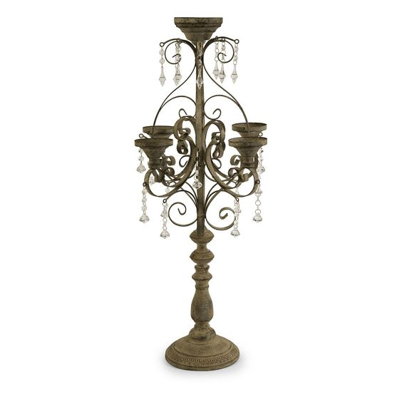 Tracy Tabletop Candle Chandelier