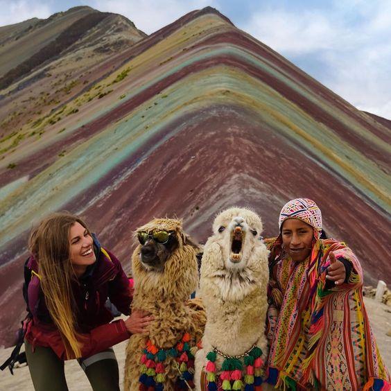la montaña de colores vinicunca