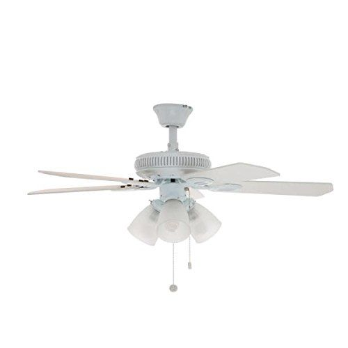 Glendale 42 White Ceiling Fan In 2020 White Ceiling Fan Ceiling Fan Ceiling Fan With Light