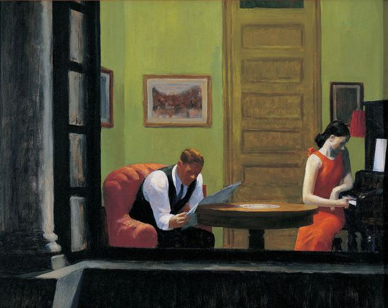Hopper-Room in New York, 1932
