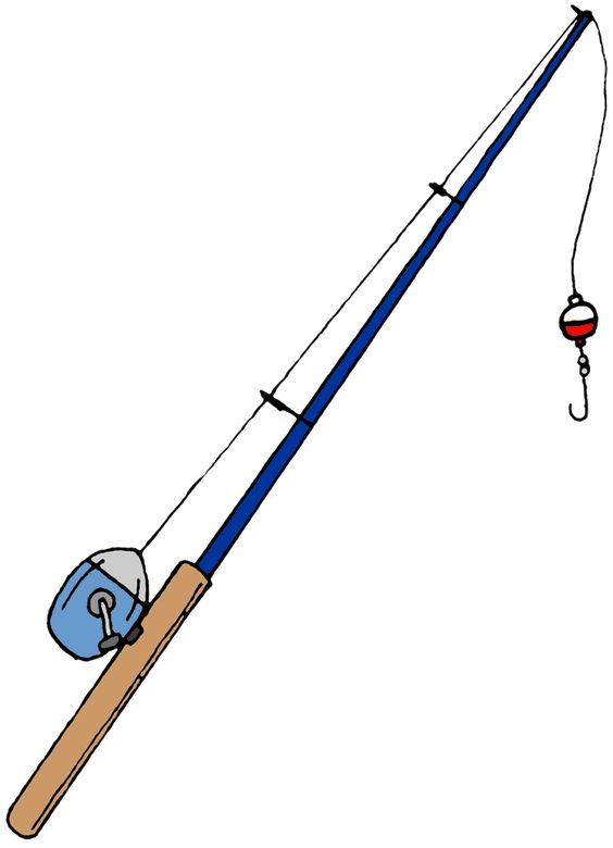 fishing pole clip art learn how to catch any kind of fish with, Fishing Rod