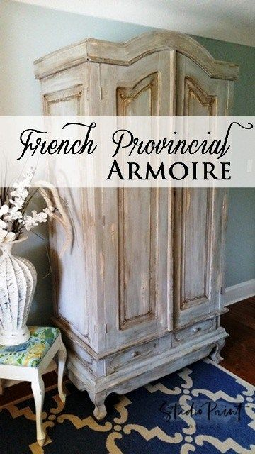 French Provincial Painted Wardrobe script