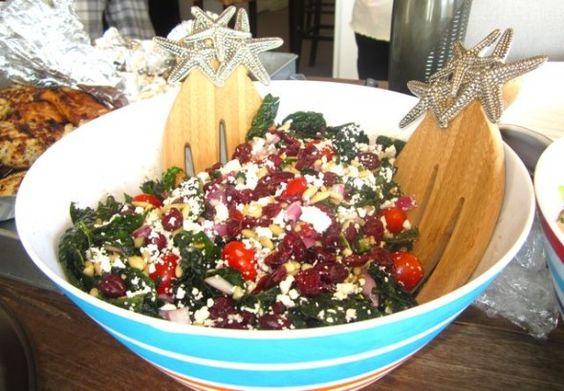Kale Salad   food/drinks   Pinterest   Kale Salads, Kale and Salads