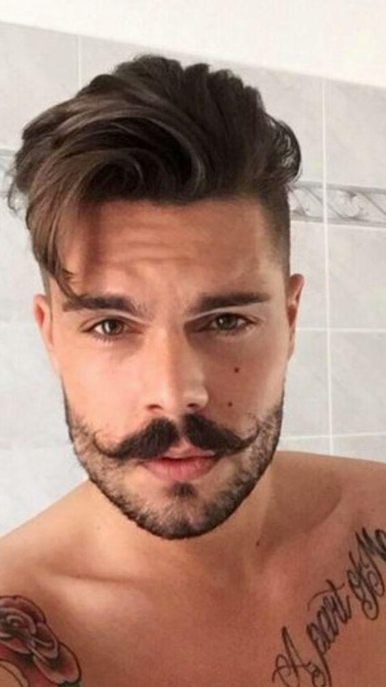 falling quiff, tendencia masculina, corte de cabelo masculino, penteado masculino, corte masculino 2020, tendencia corte 2020 masculino, tendencia masculina, estilo masculino, topete masculino, franja masculina,   men's trend, men's haircut, men's hairstyle, men's haircut 2020, men's haircut trend 2020, men's trend, men's style, men's tuft, men's bangs,