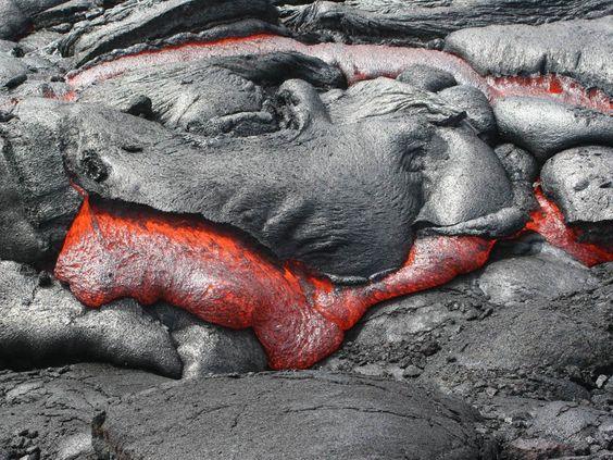 Rough Guides - Lava field, Hawaii