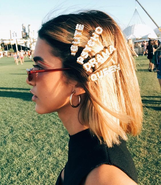 Hair Clips Are Definitely 2019 Summer Best Hair Trend | SugarAndVapor