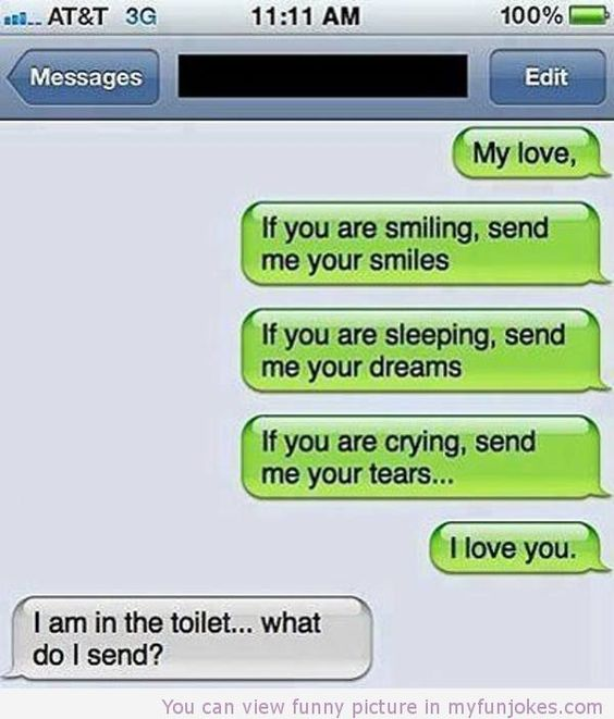 Aaawkward. Lol well i liked what the person said at first ... Funny Texts Clean