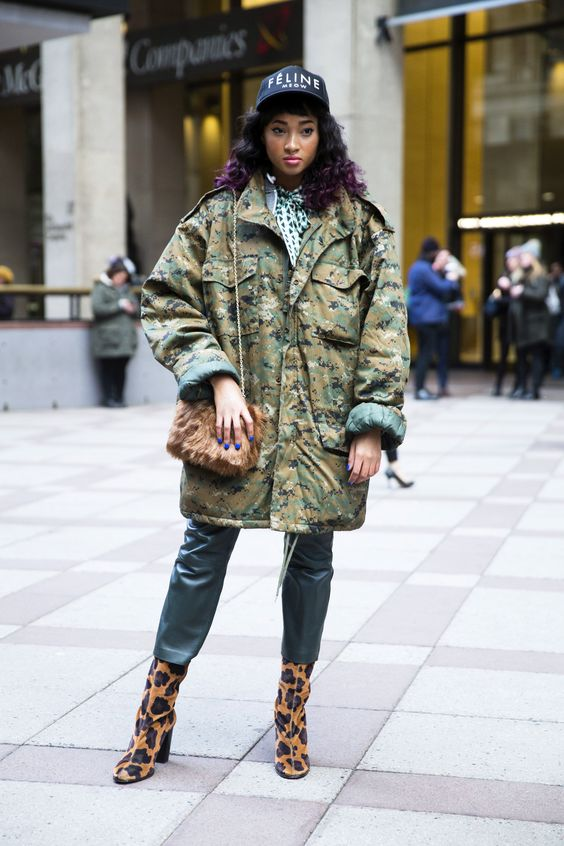The Camo Jacket Is Basically the Only Piece You Need This Fall