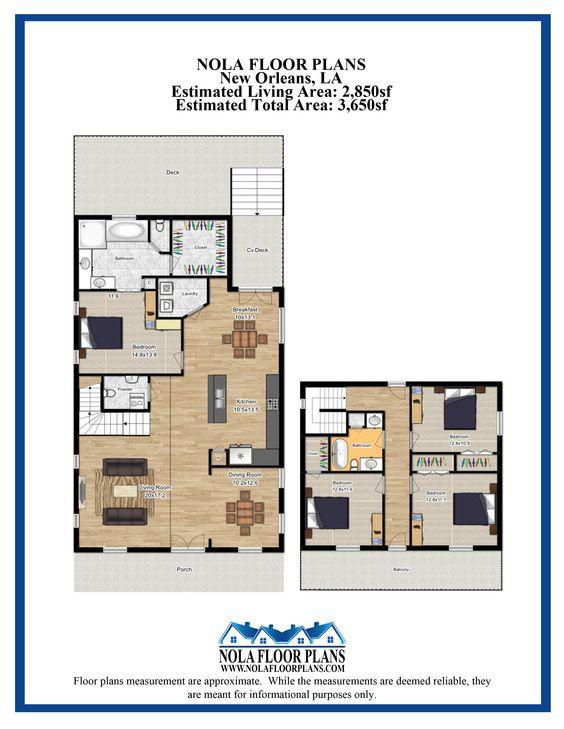 Nola Floor Plans (nolafloorplans) on Pinterest