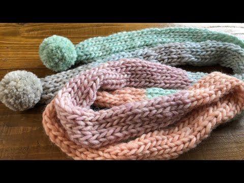 牛乳パックで作る マフラー Diy Tutorial Little Muffler Knitting Easy 手仕事 600 Youtube 編み物 簡単 牛乳パック ハンドメイド 服
