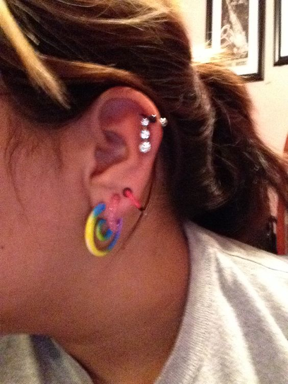 Gauges #size6 #size8 #size10 and helix