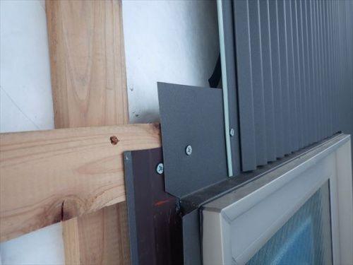 もうひとつの外壁はガルバリウム鋼板 タニタハウジングの zig