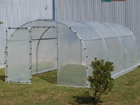 como hacer un invernadero casero jardiner a pinterest