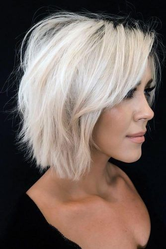 Short Hairstyles For Fine Hair 2020 25 Perfect Short Hairstyles For Fine Hair In 2020 Medium Hair Styles Short Hair With Layers Haircuts For Fine Hair