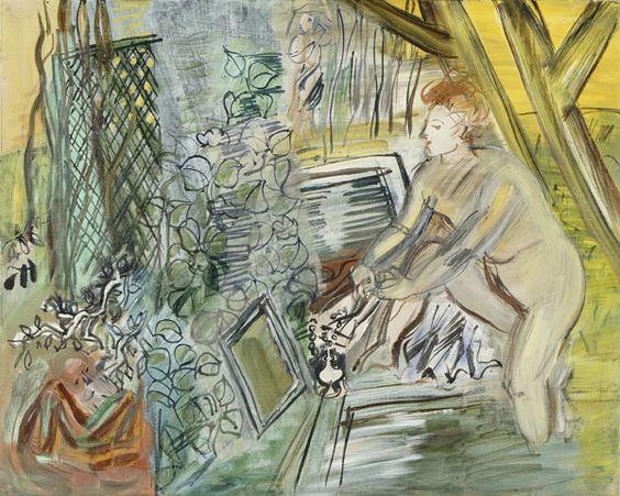 Susanna and the Elders - Raoul Dufy c. 1945