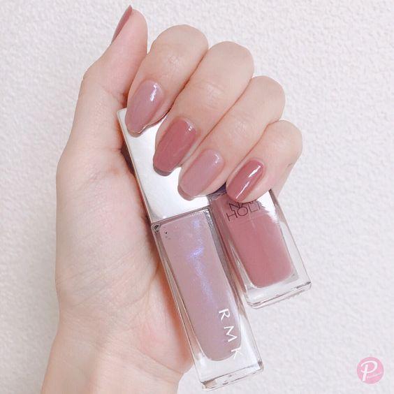 交互に塗るだけ♡2色のポリッシュを使った配色ネイル〜ピンク編〜 | ピュアラモ(Purelamo)|美容・家電・インテリア情報が満載