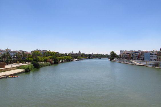 Darsena del rio Guadalquivir
