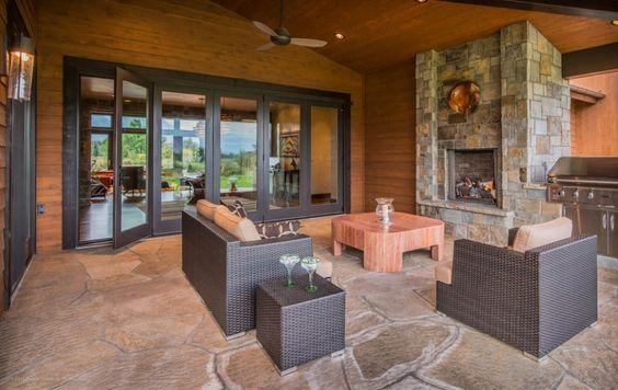 indoor outdoor living room designs | Home » Dining Room Design » Awesome Design For Indoor Outdoor Living ...