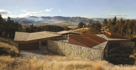 A casa C3 foi projetada por Richard Naish