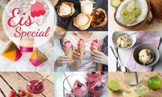 Unsere 10 liebsten Eis-Rezepte