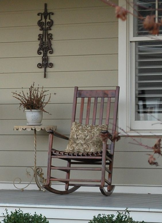 love rockers rocking chairs porches make me smile side tables design ...
