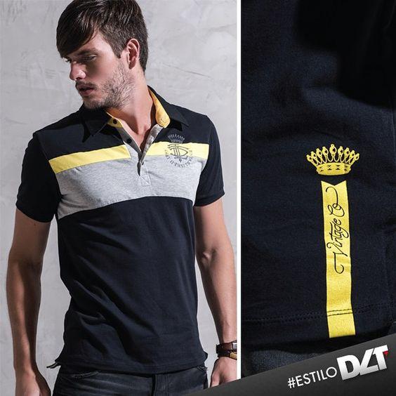 Zoom nos detalhes irados da nossa camisa polo. #estilodlt