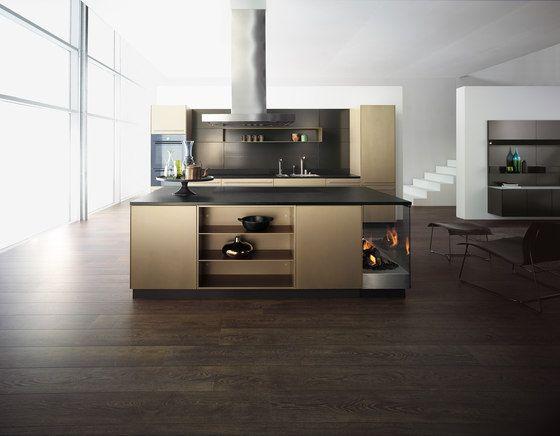Forster Küchen, Chalet, Stahlküche, Mountain, Schachteltäfer - moderne kuchen forster