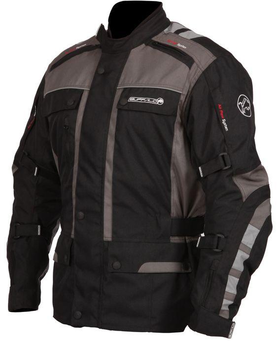 Ministry of Bikes - Buffalo Sonar Motorcycle Jacket - Black/Gun, �119.99 (http://www.ministryofbikes.co.uk/buffalo-sonar-motorcycle-jacket-black-gun.html/)