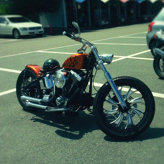 Harley Davidson  96FLSTF Custom