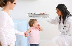 Tabla de pesos y estatura del bebé, niño o niña