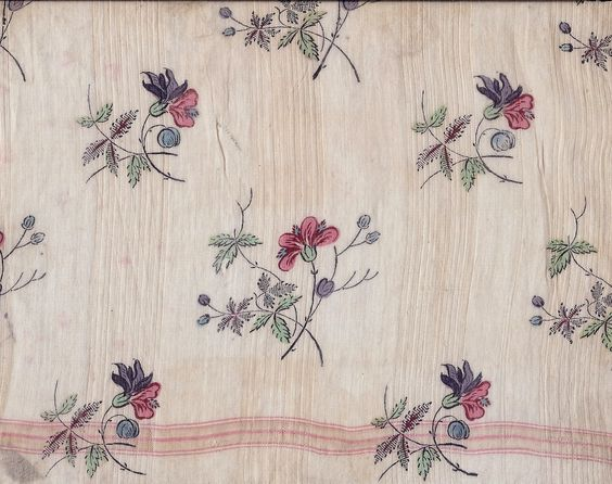 c.1830s Dargate cotton sheer