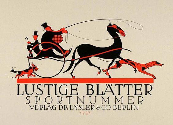 Lustige Blätter Sport Nummer (1931) by Susanlenox, via Flickr