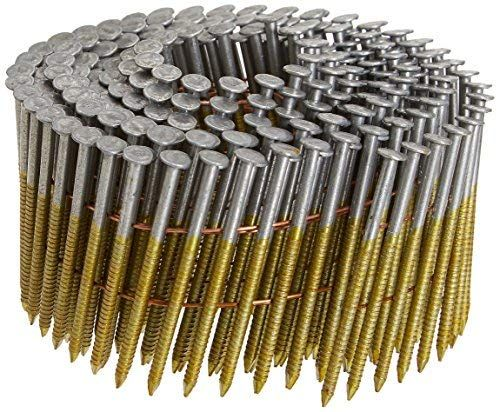 Airtoolsdepot Hitachi 12705h 2 3 8 Inch X 0 113 Ring 2 7m Hot Dipped Galvanized Round Head Wire Coil Framing Nails 2700 Pack From Hitachi
