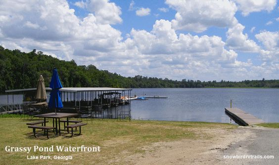 Waterfront at Grassy Pond Family Campground