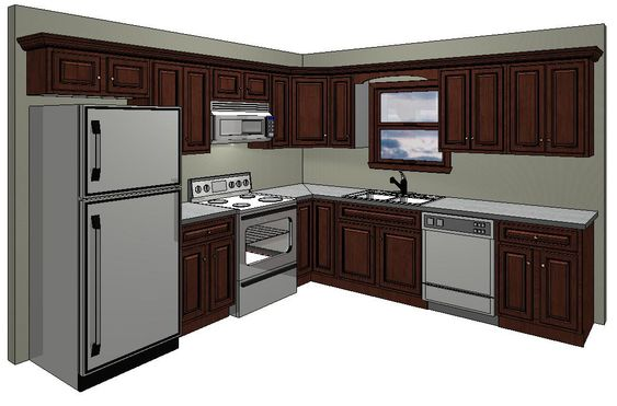 We the o 39 jays and mom on pinterest for Standard kitchen designs