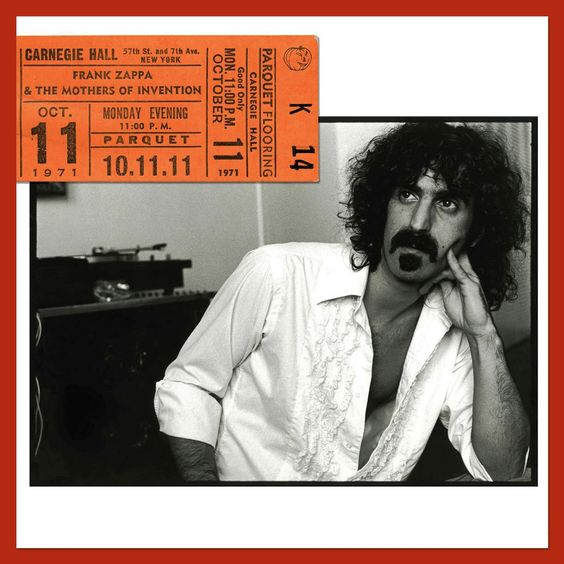 Carnegie Hall 1971  CD cover