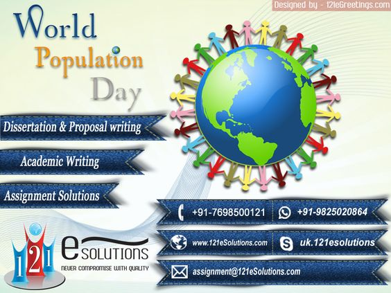 HAPPY WORLD POPULATION DAY TO ALL...smile emoticon
