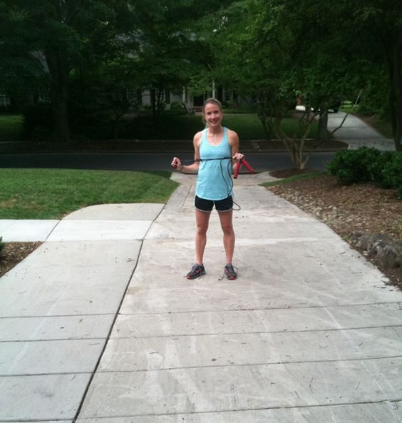 Jumprope Driveway Workout - Just over 30 minutes