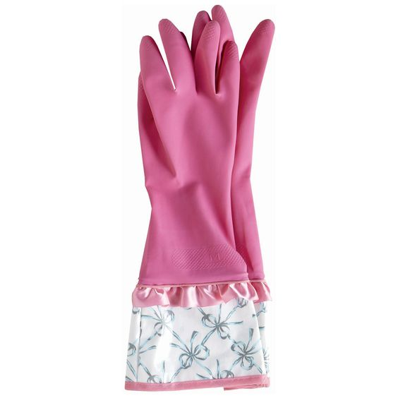 Jessie Steele Rubber Gloves Bella Bows @Layla Grayce