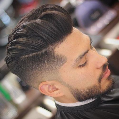 35 Pompadour Fade Haircuts Modern Styling Tips Ideas With