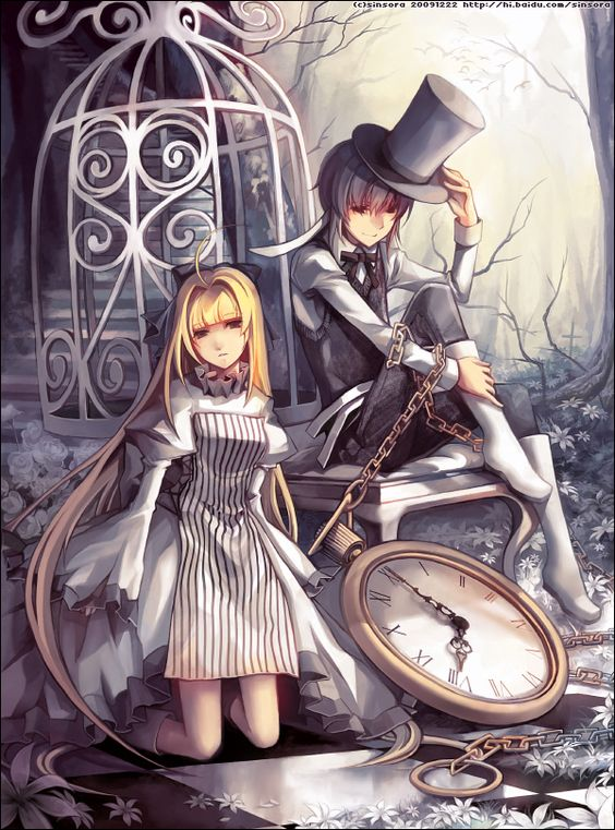 Wonderland, Alice in wonderland and Pandora hearts on ...