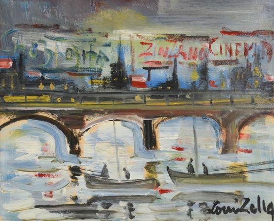 Expressionist Cityscape
