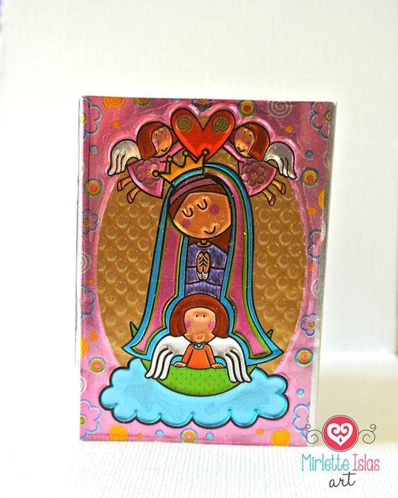 Baptism favor / First communion favor / Pink by MirletteIslasArt