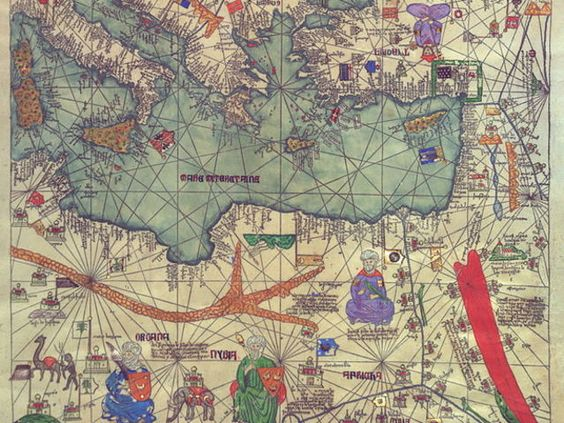 Can You Identify This Place From A Medieval Map Medieval Th - Holy see map quiz
