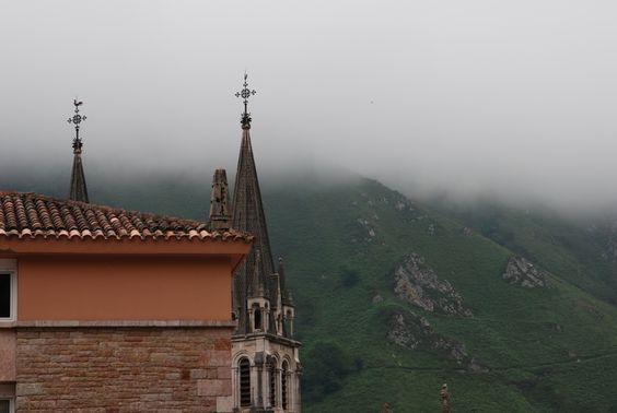 Monasterio de Covadonga - Spain ..