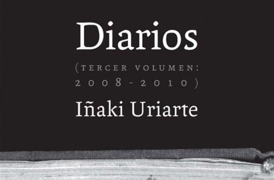 Portada Diarios De Inaki Uriarte