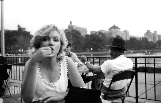 Marilyn in Central Park, New York By Sam Shaw 1957