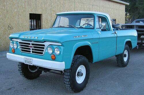 Restored Dodge Power Wagon
